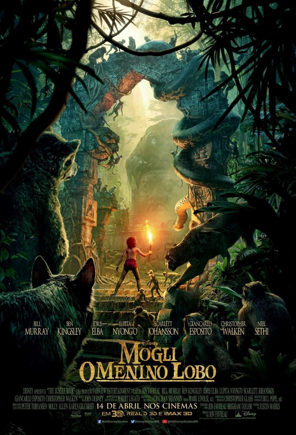 Mogli O Menino Lobo Resenha Critica Analise Livro Da Selva Disney The Jungle Book Filmes