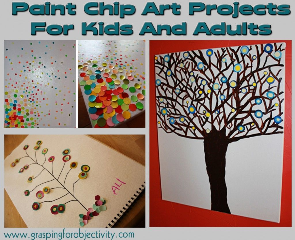 Paint Chip Art Ideas