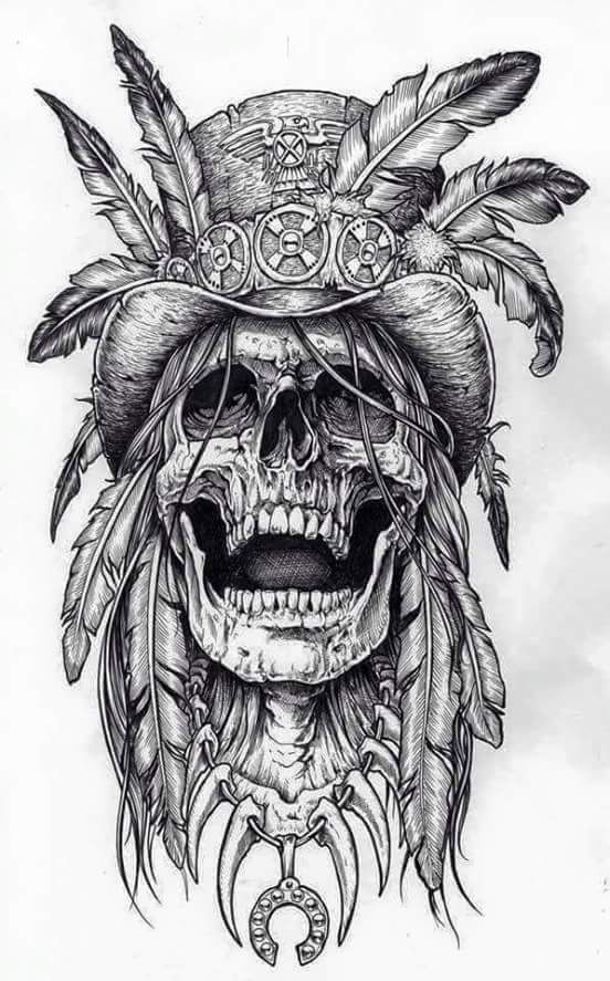 36++ Dessin tete de mort tatouage ideas