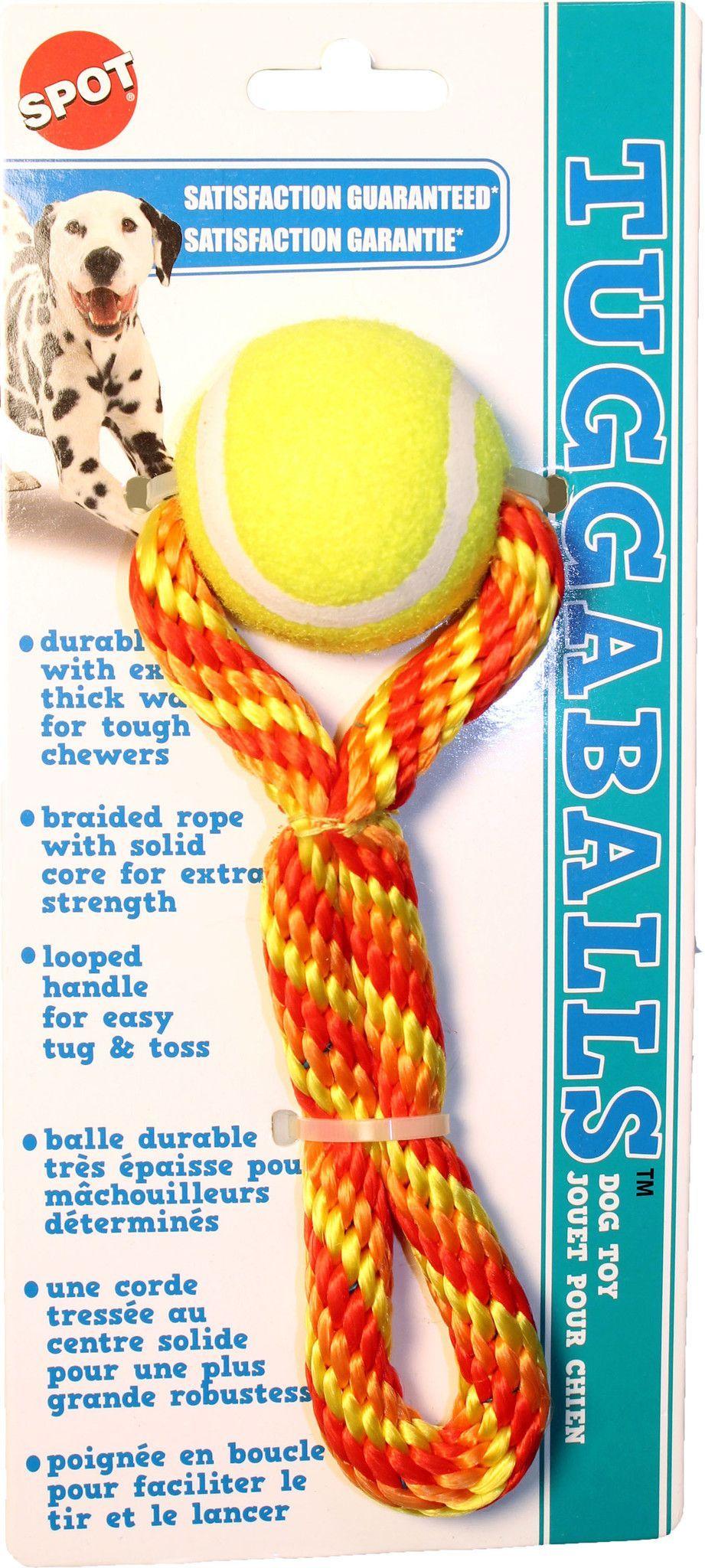 Tuggaballs Tennis Ball/rope