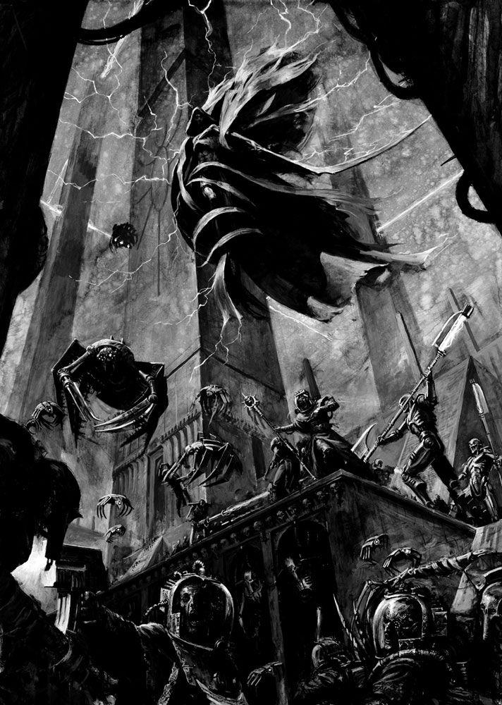 C'tan Nightbringer and Necrons | Warhammer 40k necrons, Warhammer 40k  artwork, Warhammer lore