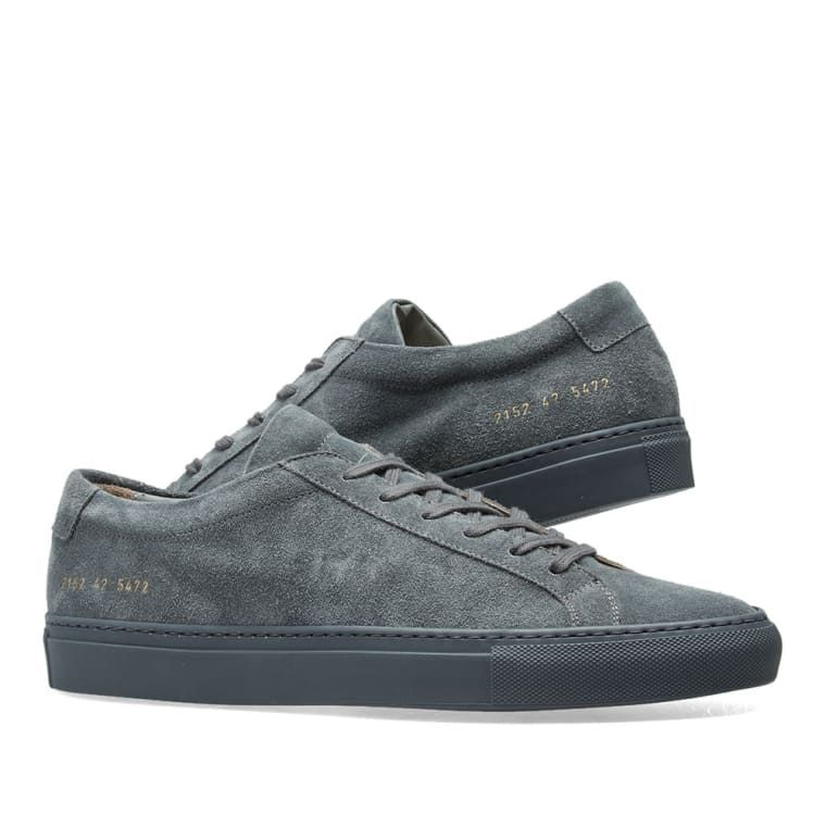 Suede Projects Grey 8Stylish Achilles Common Dark Original Low PuTXOwikZ