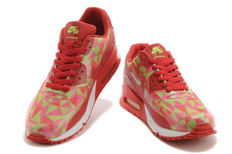low priced be9a3 5b224 Nike Air Max 90 Hyperfuse Large red and white