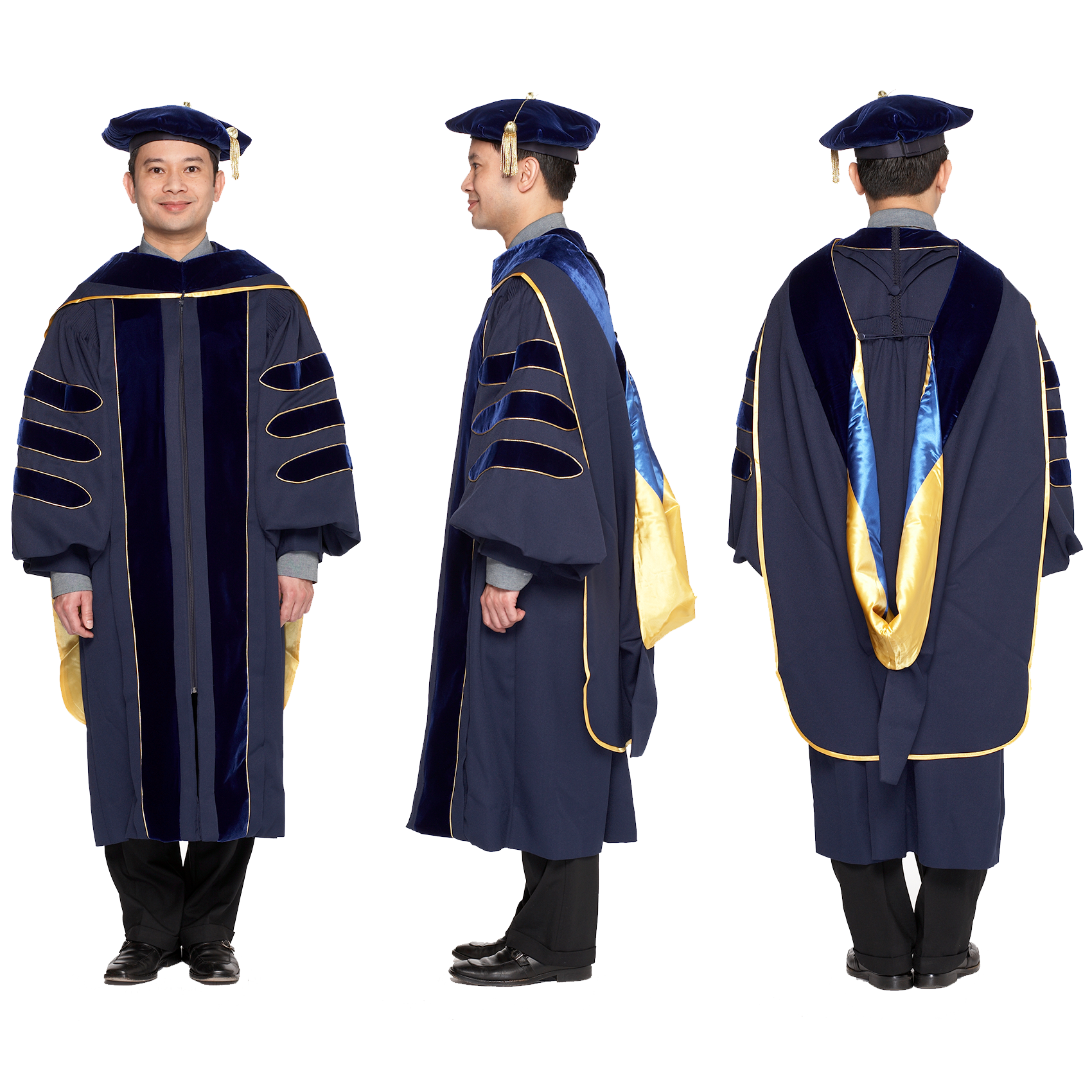 Complete Doctoral Regalia for University of California | Pinterest ...