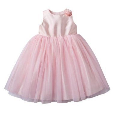 b29ed8a19bd Capri rose flower girl dress- Target (for baby Aubrey)