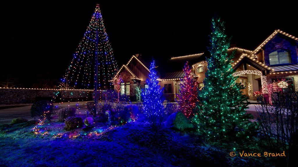 Christmas Lights Led Christmas Lights Hang Down From This Flag Pole Christmas Lights Led Christmas Lights Christmas Tree Lighting