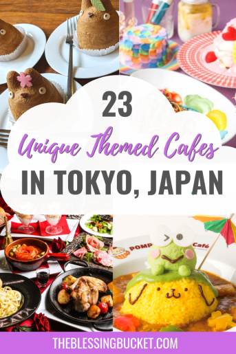 23 Unique Themed Cafes in Tokyo - From Pokemon to Prison - The Blessing Bucket #tokyo #japantravelbucketlists #japanesefood #japantravel #japantravelcities #honeymoon japan 23 Unique Themed Cafes in Tokyo - From Pokemon to Prison - The Blessing Bucket