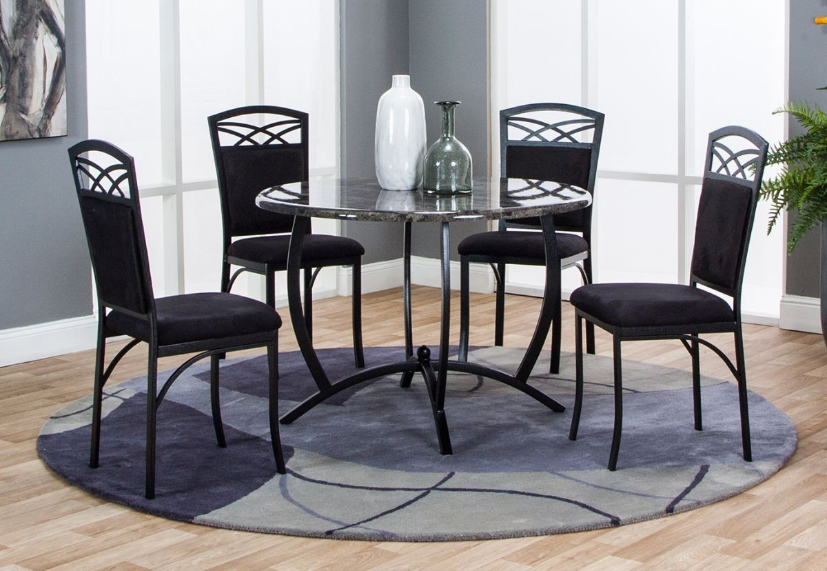 Badcock More Electra 5 Pc Dining Room Unique Dining Room