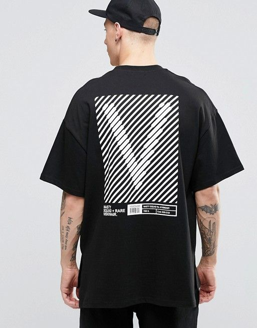 c43259a6b8 Vision Air   Vision Air Utility T-Shirt With Dropped Shoulders
