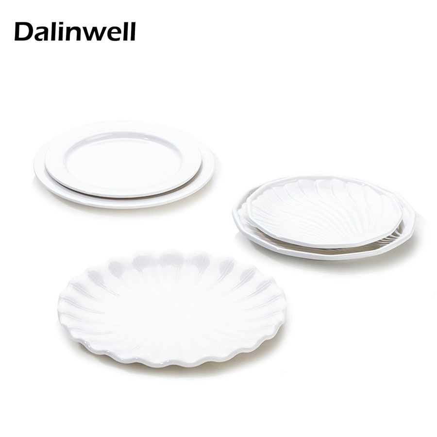 2017 New 1PCS Japanese Style Lace Of Plate Restaurant Dishes Plastic Porcelain Dish Pure White Melamine  sc 1 st  Pinterest & 2017 New 1PCS Japanese Style Lace Of Plate Restaurant Dishes Plastic ...