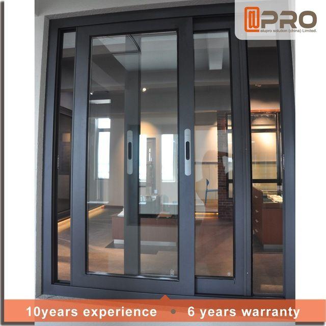 2017 moderno casa ventanas de aluminio estilo de rejas for Ventanas aluminio gris antracita