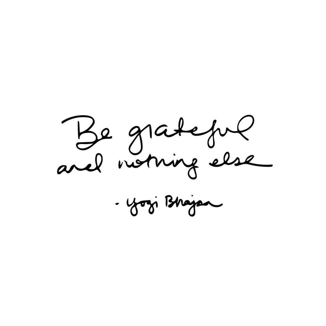 """132 Likes, 13 Comments - Caitlin Cady (@caitlincady) on Instagram: """"MONDAY MANTRA // """"Be grateful and nothing else."""" -Yogi Bhajan I've said it before and I'll say it…"""""""