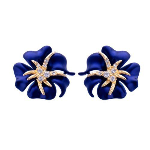 Chaomingzhen 18k Gold Plated Flower with Star Earring for Women Fashion Jewerly Alloy and Austria Crystal Party or Wedding Chaomingzhen. $88.00. Fashion. Charm. Cute. Noble. Popular