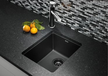 Blanco 400827 Precis Anthracite Undermount Silgranit Bar Sink