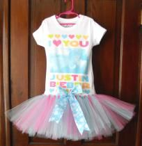Justin Bieber Tutu Dress Size 4/5