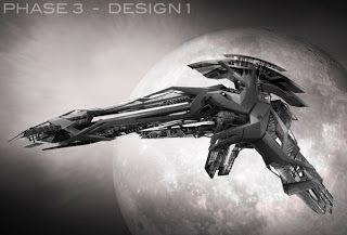 Film Sketchr: Exclusive: Unseen STAR TREK INTO DARKNESS Klingon Ship Concept Art by Harald Belker
