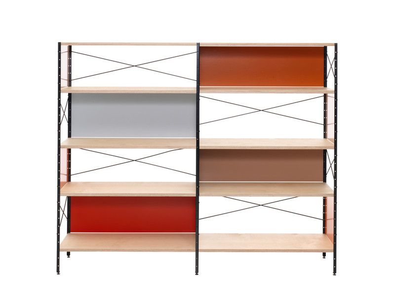 Vitra Eames Storage Unit Shelf ESU 4 HU Wooden shelving
