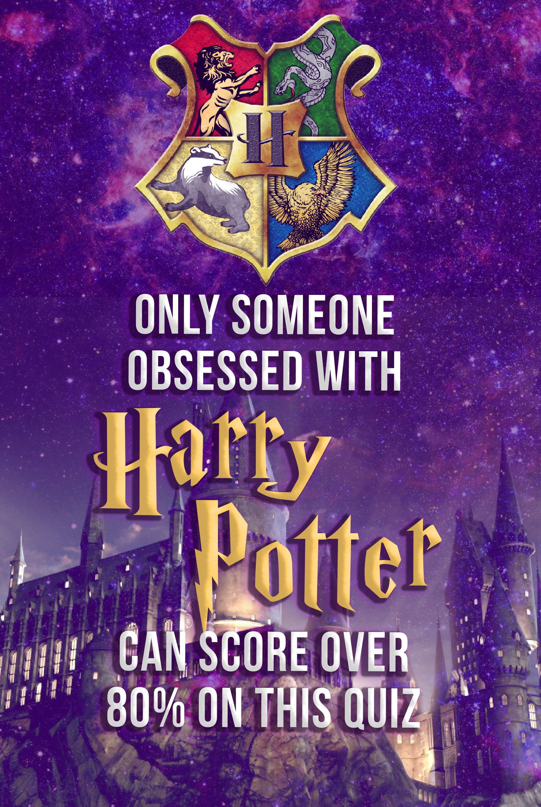Only Someone Obsessed With Harry Potter Can Score Over 80