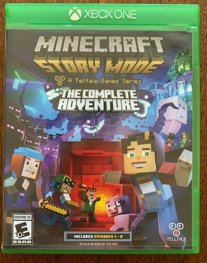 Minecraft Story Mode The Complete Adventure Excellent