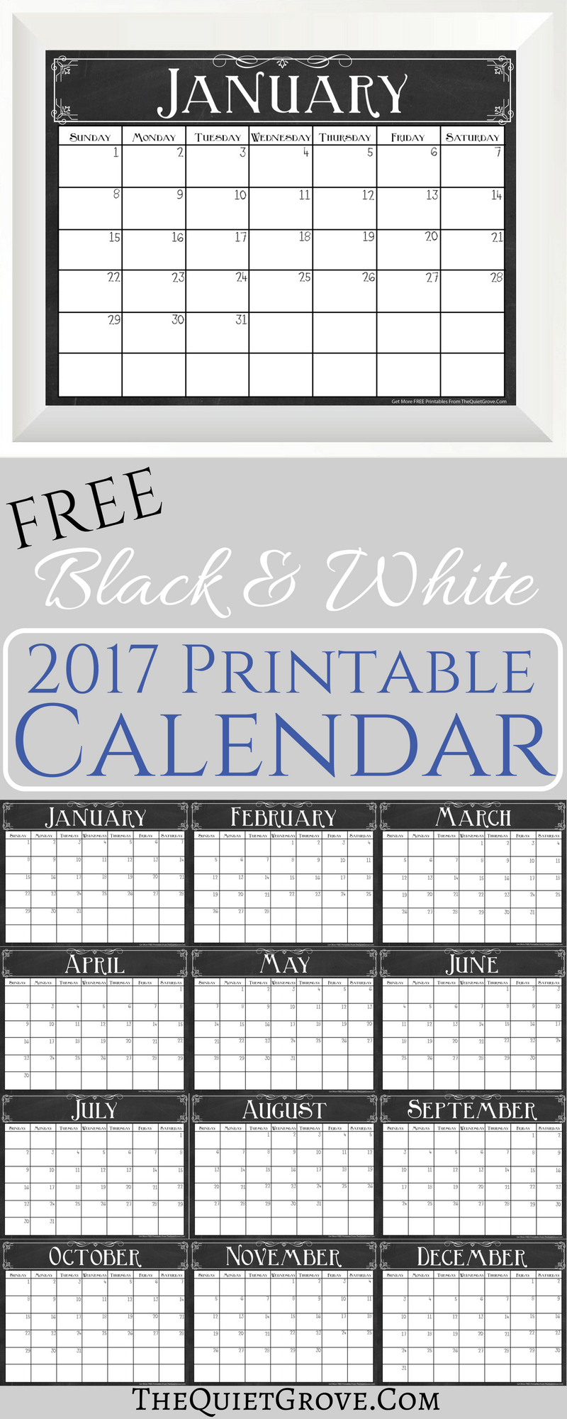 Organizational Printables  Printable Calendars Printing And Free