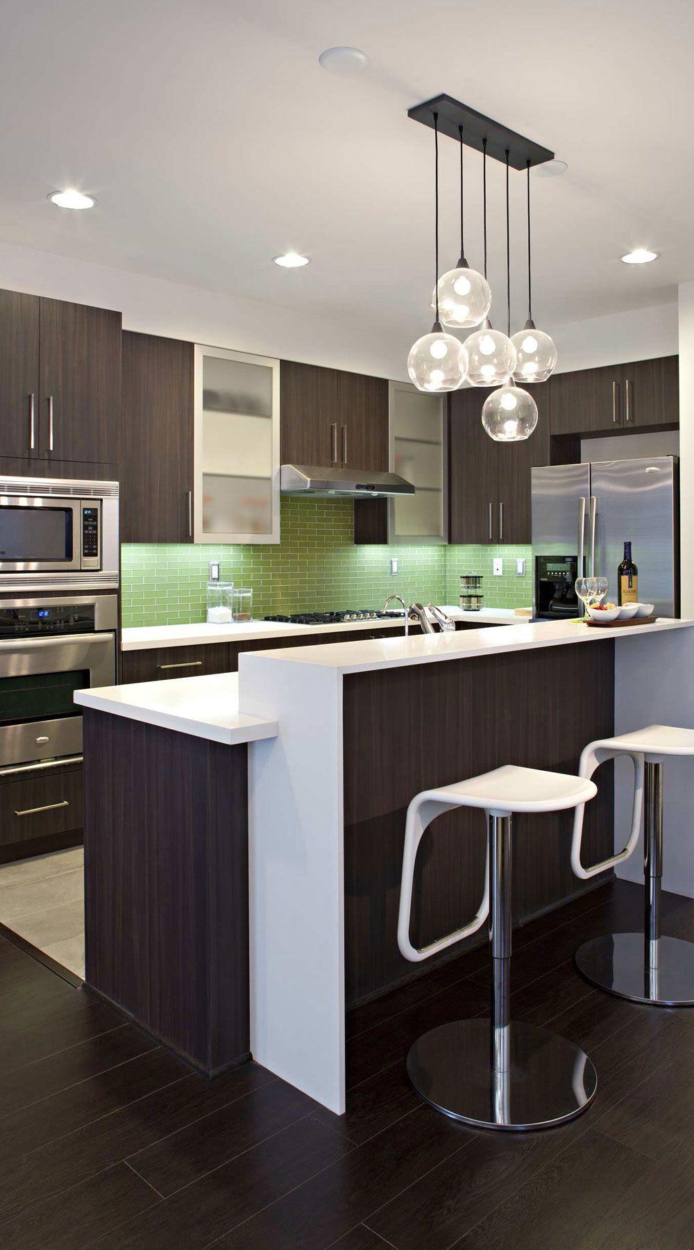 47 Espresso Kitchen Cabinets Espresso Shaker Sleek Modern In 2021 Kitchen Design Small Contemporary Kitchen Design Kitchen Design Modern Small