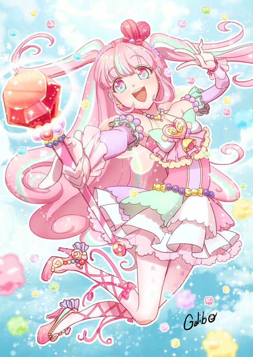 Hey There I M Pastel Lace A Magical Girl I M Not In A Group Or