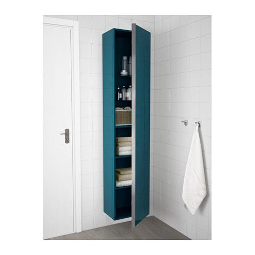 badkamerkast turquoise on white wall | bathroom | pinterest | walls, Deco ideeën