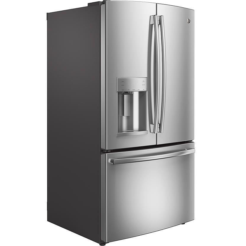 Ge appliances gye22kshss 221 cu ft counterdepth french