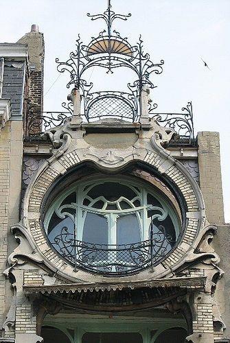 Art Nouveau House Art Nouveau Art Nouveau Architecture Unique