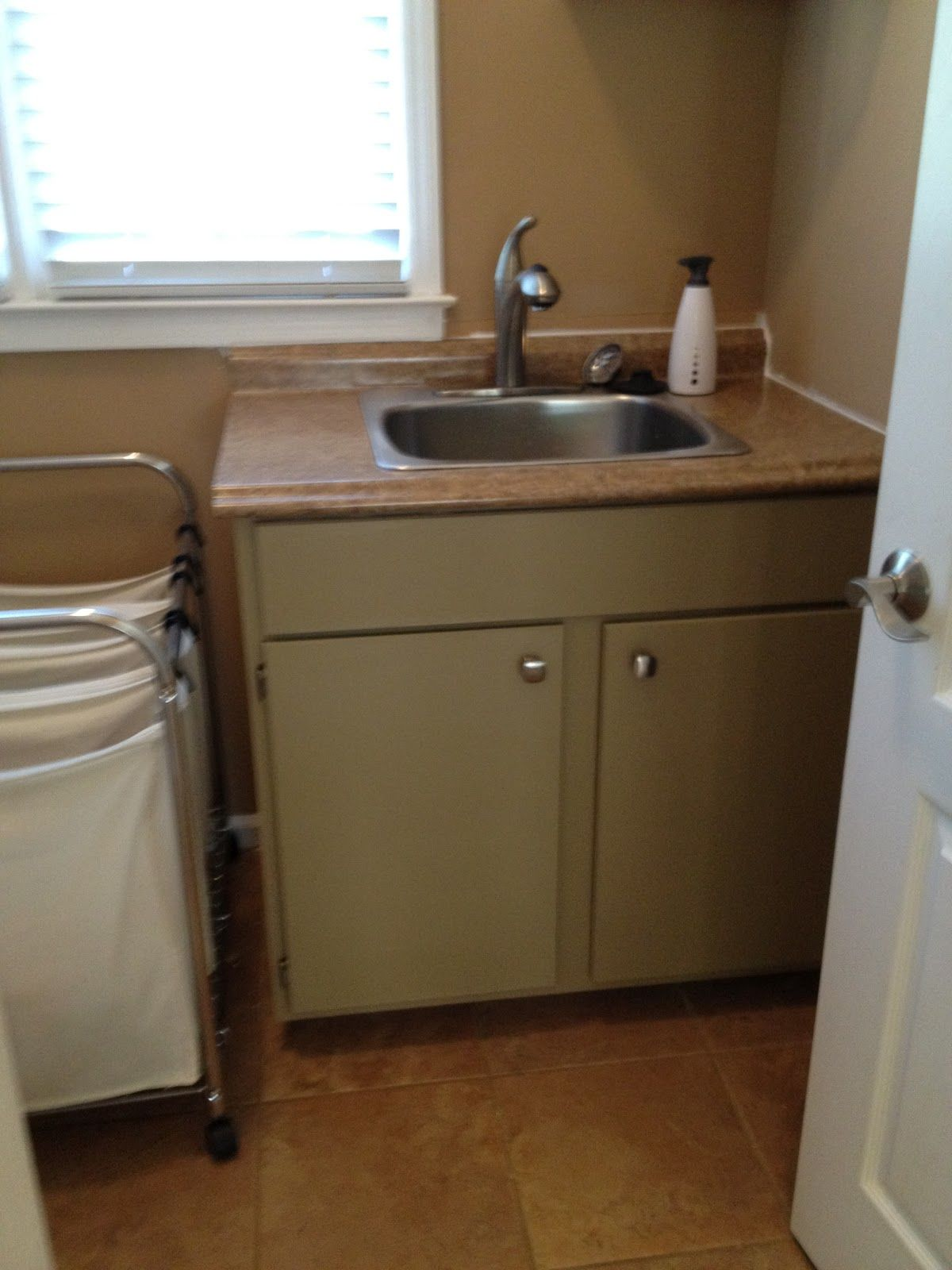 Laundry Room Update The Sink And Countertop Sink Laundry Room Update Laundry Room Sink