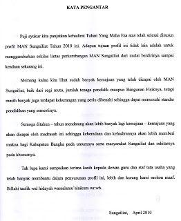 Contoh Kata Pengantar Makalah Bahasa Indonesia Http Jajalabut