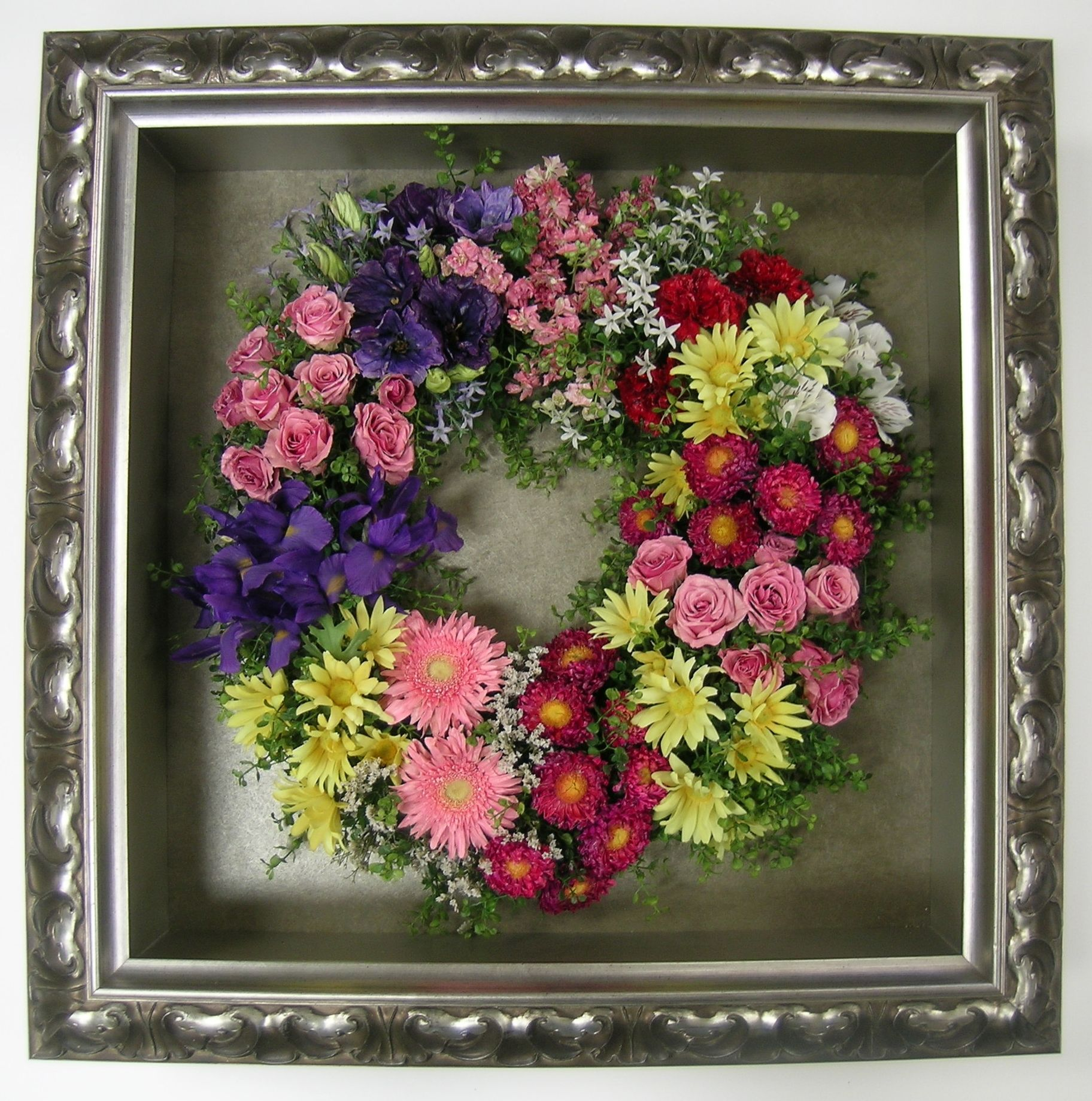 Pin by floral keepsakes on funeral and memorial flowers and tributes preserving flowers memorial flowers shadow box funeral keepsakes wreaths diy crafts souvenirs garlands izmirmasajfo Choice Image