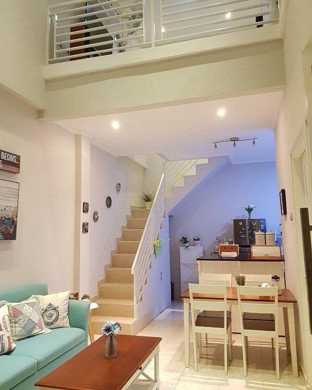 Desain Ruang Tamu Cafe  desain rumah minimalis rumah kecil gati rizky yang