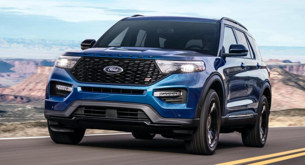 2021 ford explorer xlt sport appearance package - new cars