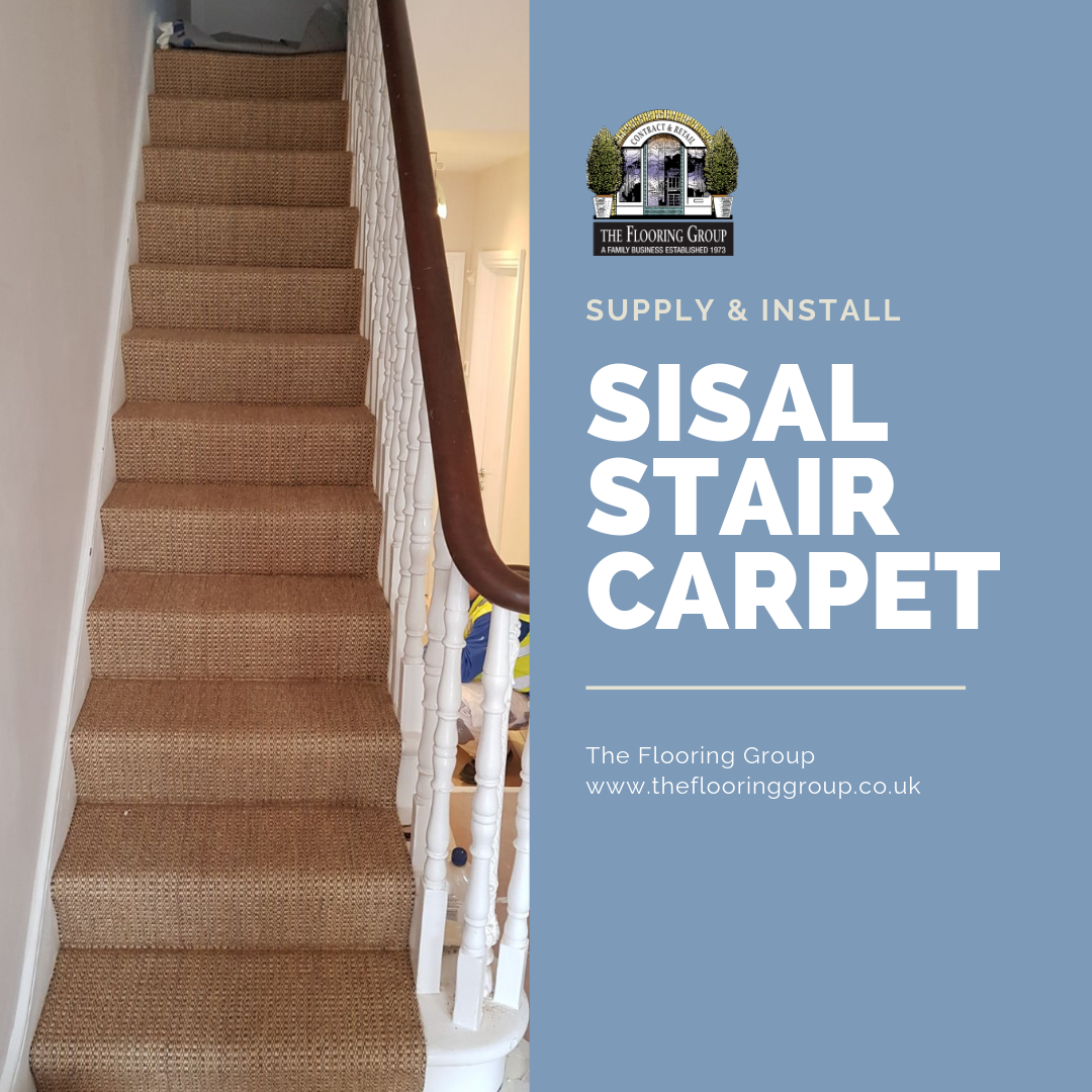 Best Sisal Stair Carpet Fitted In Barbican Carpet Stairs 400 x 300