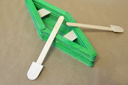 Photo of Popsicle Stick Boat Craft Ideas for Kids
