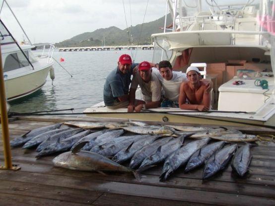 Catch of the day, St Maarten ~ Deep Sea Fishing