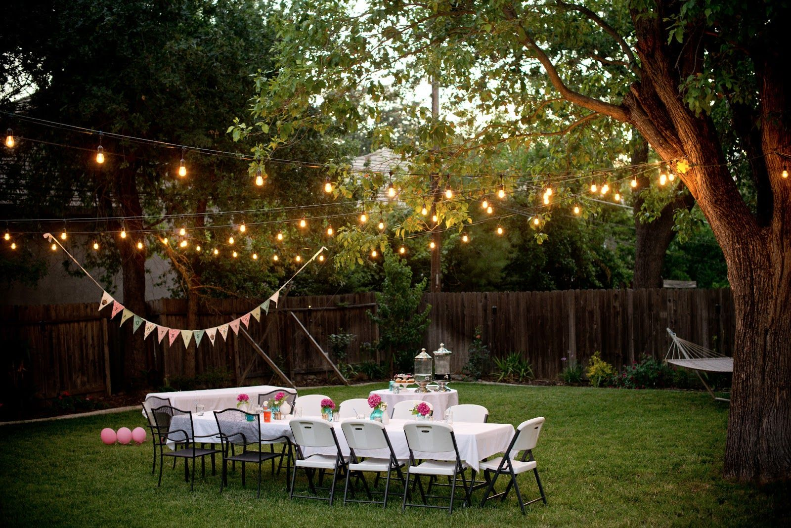 Gallery from Outdoor Lights Party 2020 Details @house2homegoods.net