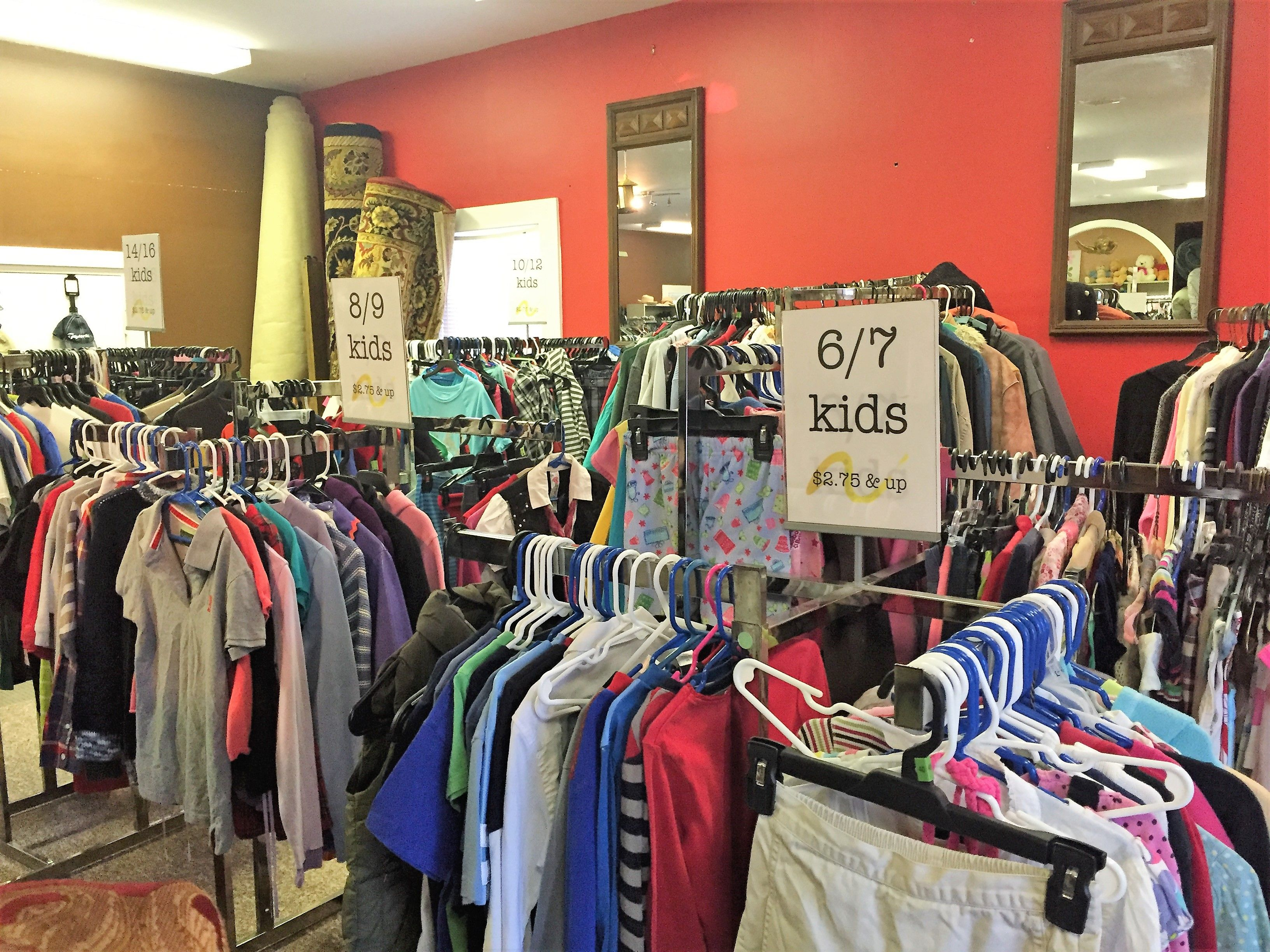 More kids clothes! Why spend a fortune when they grow out