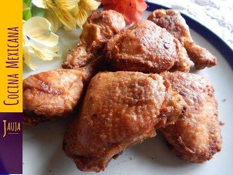 Pollo Frito Doradito Marinado En Ajo Limón Y Especias Pollo Frito De Jauja Cocina Mexicana Pollo Frito Ti Pollo Frito Enchiladas De Pollo Como Cocinar Pollo