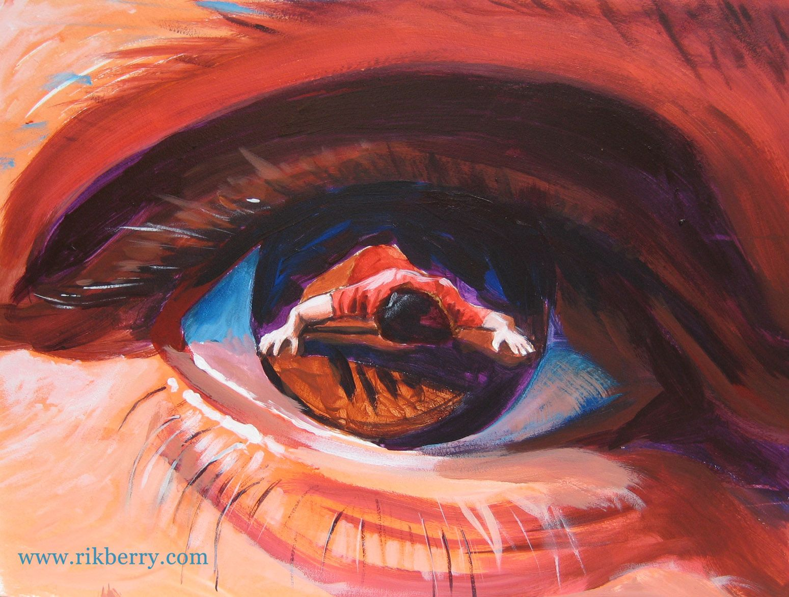 Apple of His eye | Prophetic painting, Prophetic art, Painting
