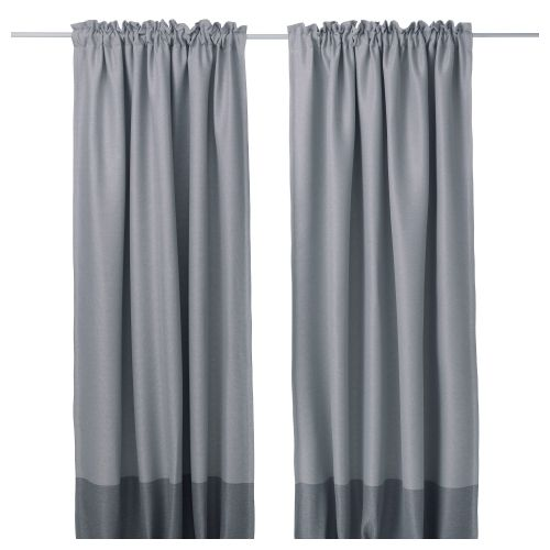 Marjun Block Out Curtains 1 Pair Block Out Curtains Ikea Curtains Cool Curtains - Ikea Vorhang Marjun