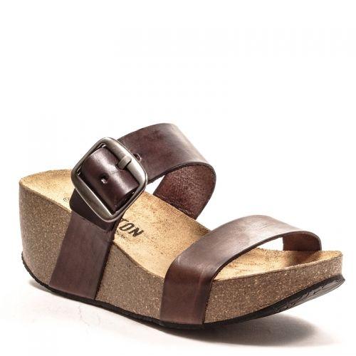 Chaussures Plakton marron femme ur3Lfg8