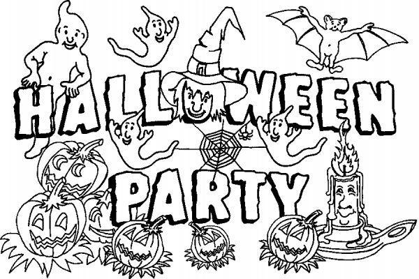 Coloriage Halloween A Imprimer Qui Fait Peur à Colorier