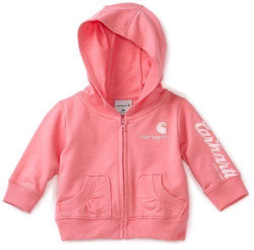 Carhartt Baby Girls Infant Cozy Zip Front Jacket