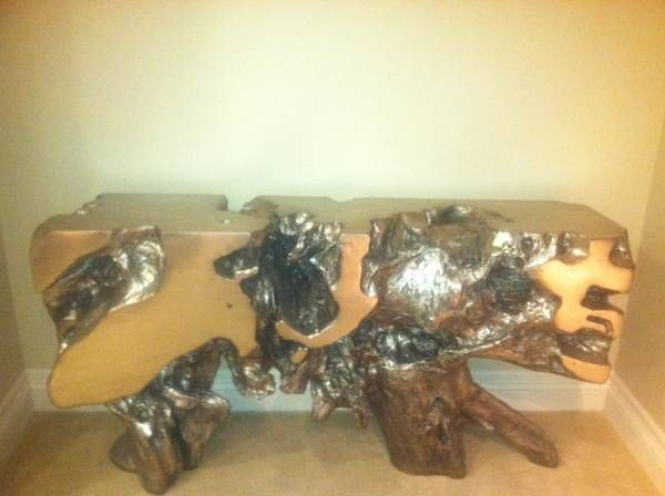 Z Gallerie Resin Sequoia Console Table 400 San Jose