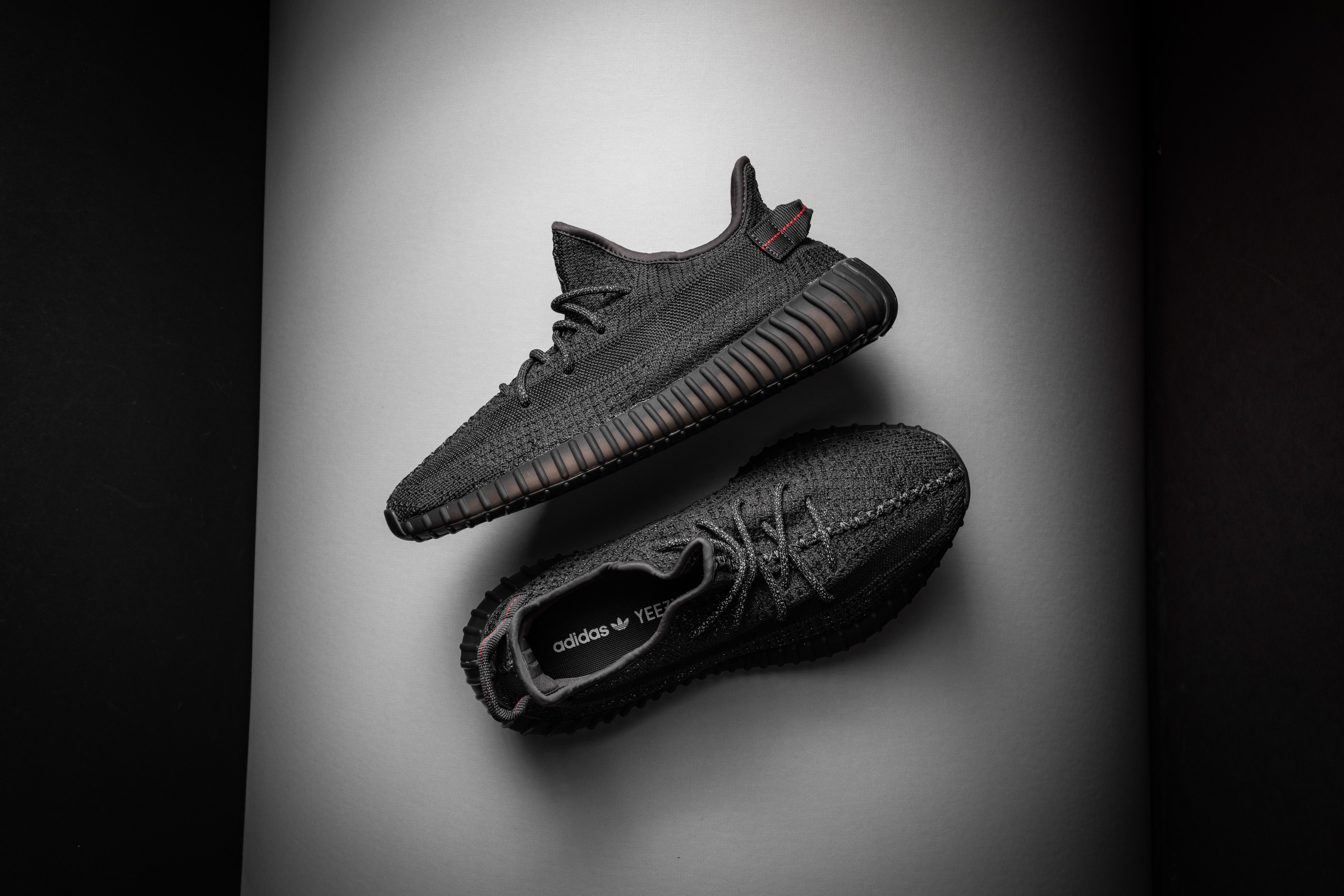 Adidas Yeezy Boost 350 V2 Reflective Black Static Fu9007