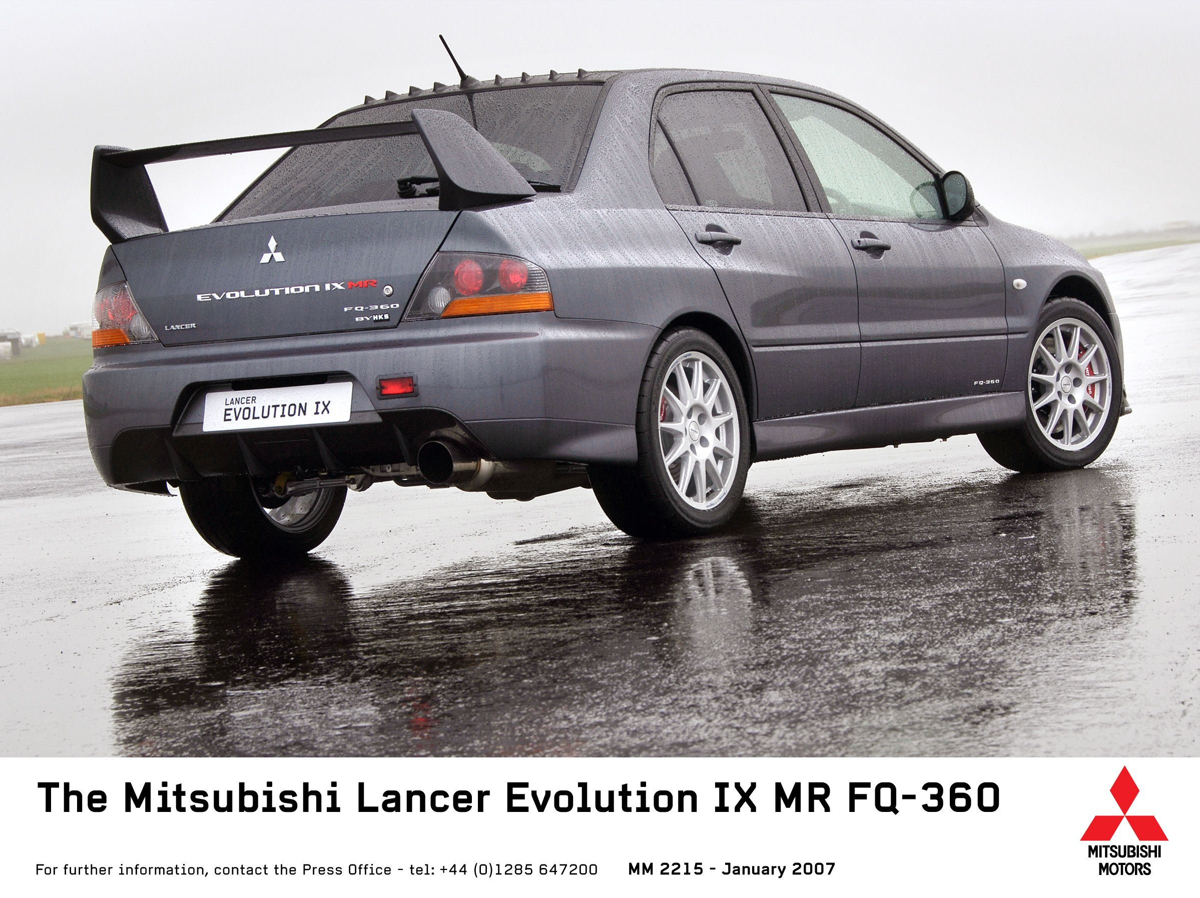 2007 Mitsubishi Lancer Evolution IX MR FQ 360