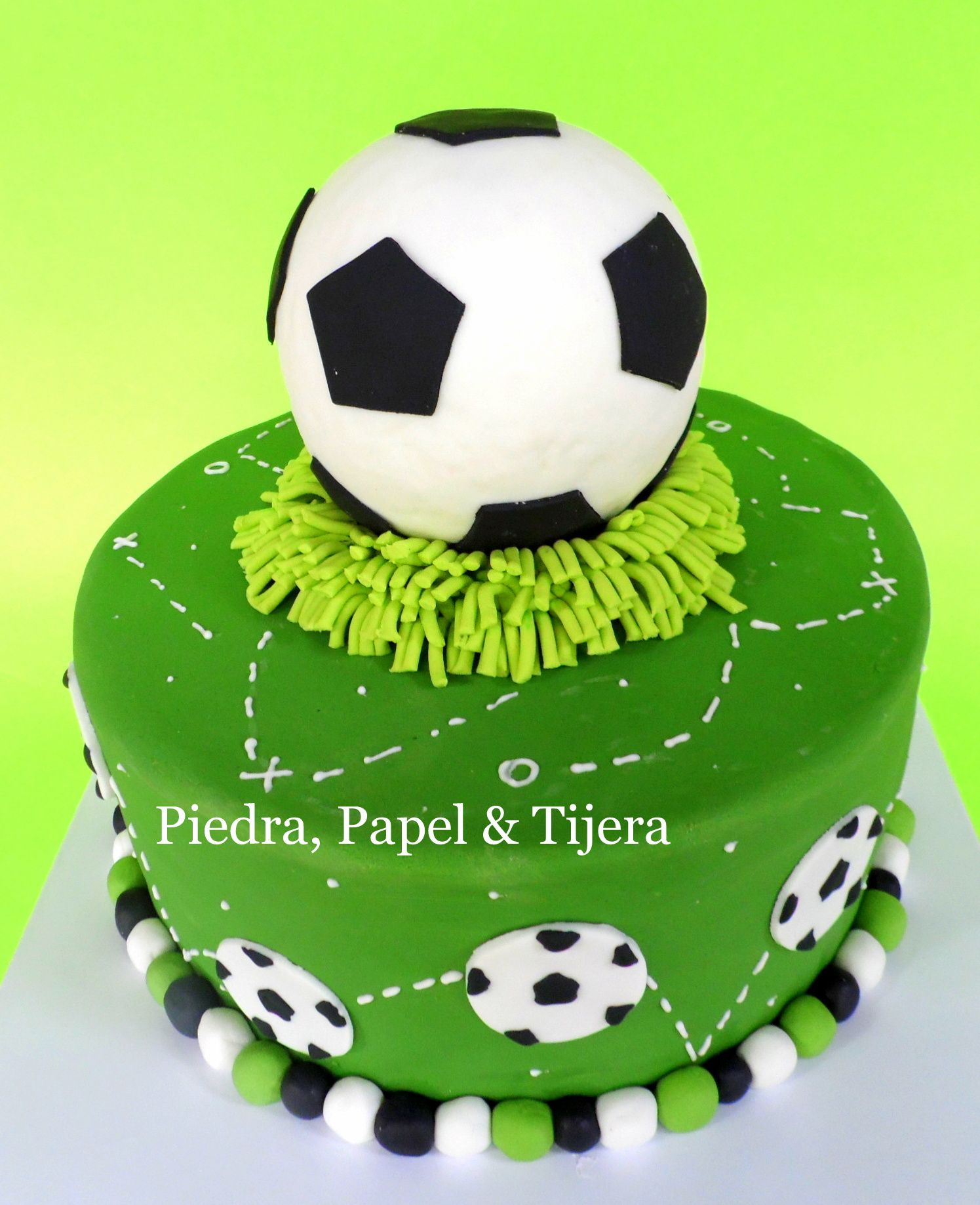 How To Decorate A Soccer Ball Cake Soccer Cake  Some Of Our Creations2014  Pinterest  Soccer