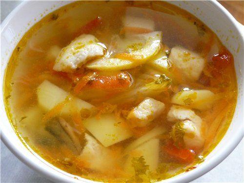 рецепт рыбный суп с фото